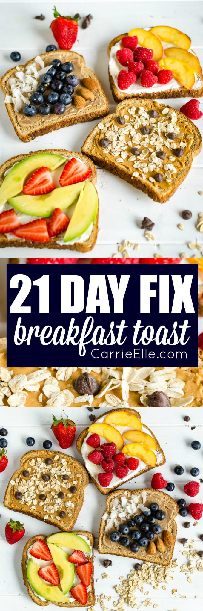 21 Day Fix Breakfast Toast