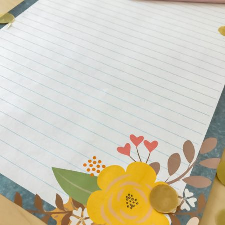 Printable Fall Stationery