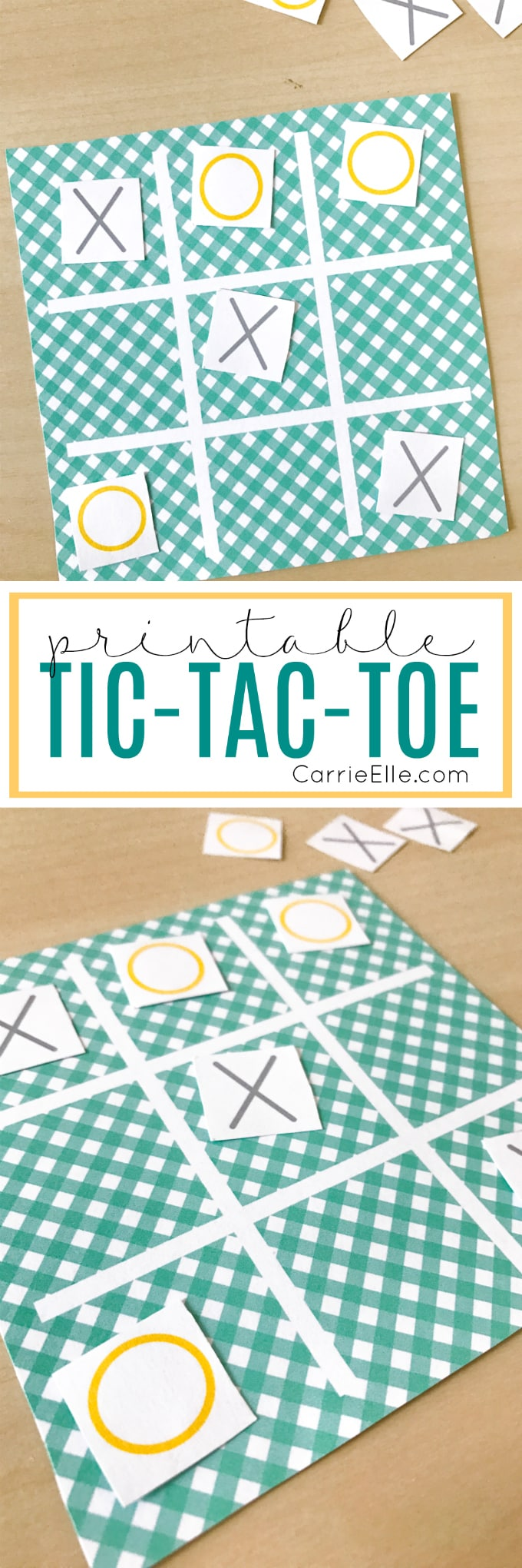 Printable Tic-Tac-Toe