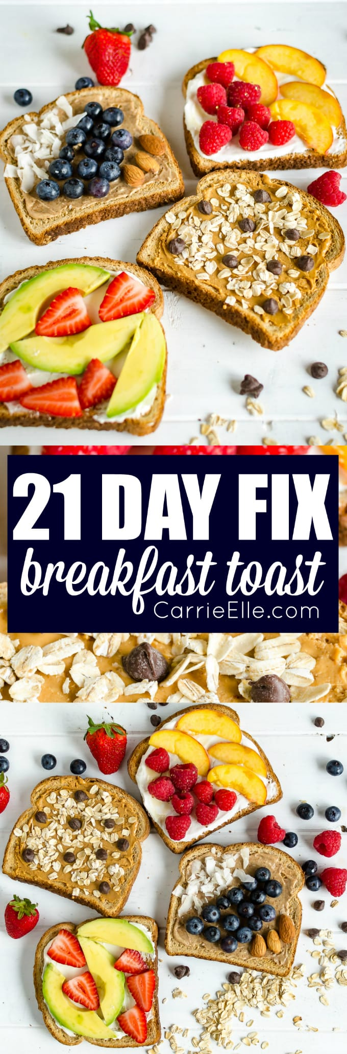 21 Day Fix Toast