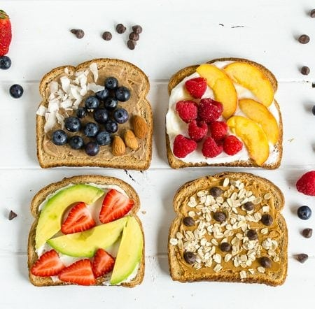 21 Day Fix Toast Recipes
