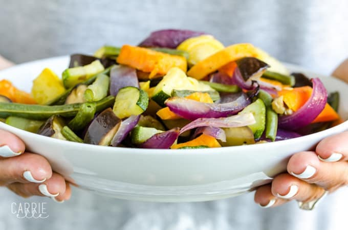 21 Day Fix Roasted Veggie Medley