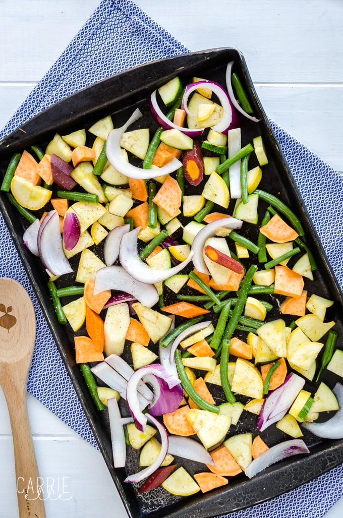 21 Day Fix Roasted Veggie Medley