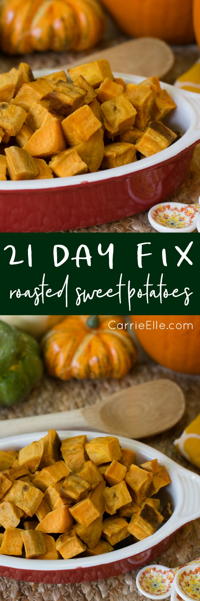 21 Day Fix Roasted Sweet Potatoes