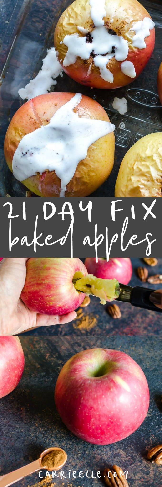 21 Day Fix Baked Apples