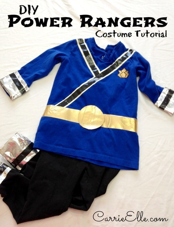 DIY Power Rangers Costume