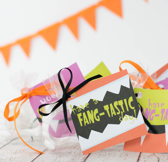 Halloween Treat Bags Printable
