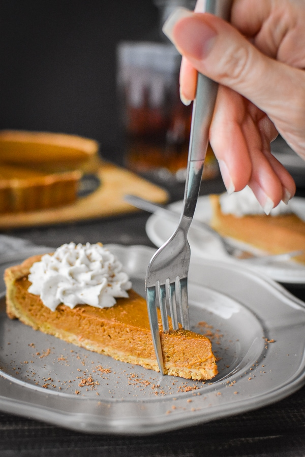 21 Day Fix Pumpkin Tart
