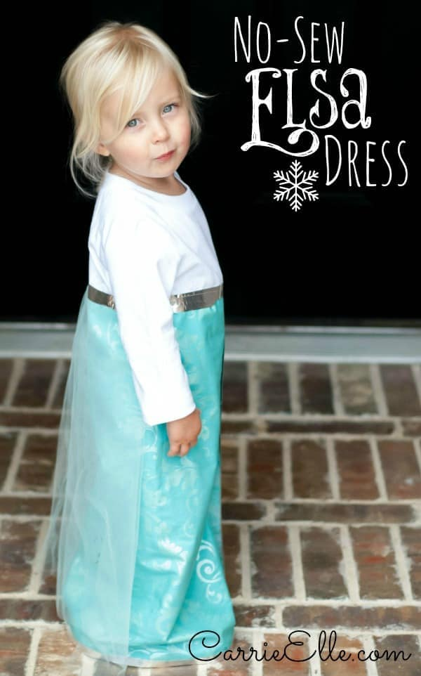 No-Sew Frozen Costume