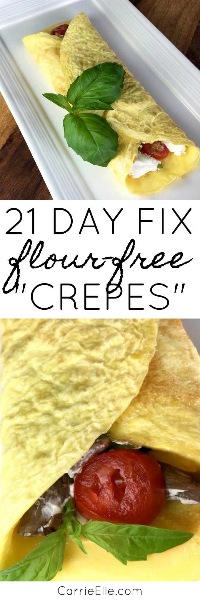 21 Day Fix Crepes