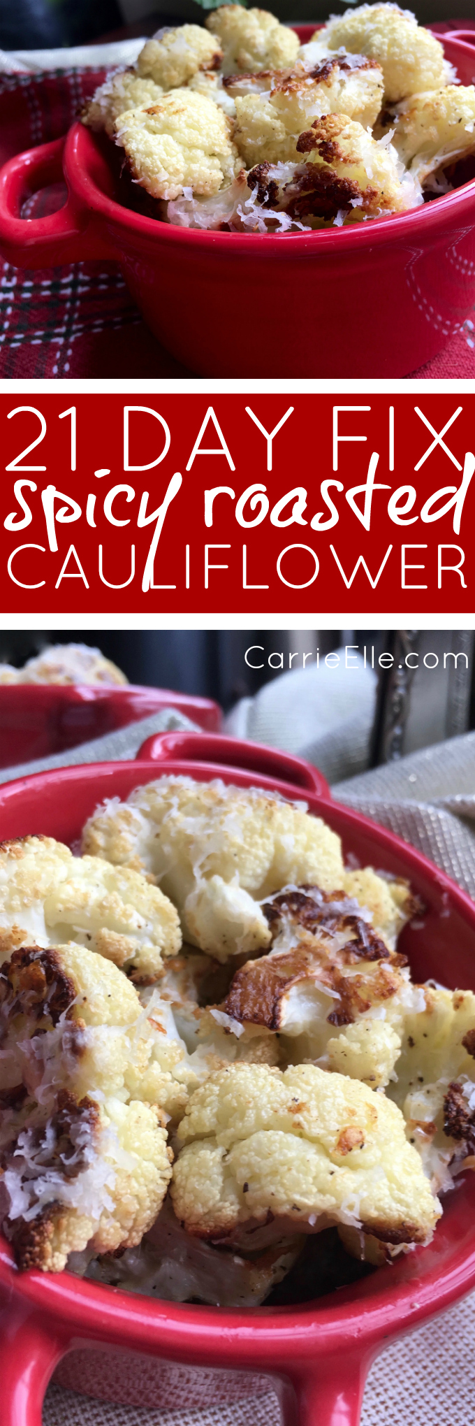 21 Day Fix Spicy Roasted Cauliflower