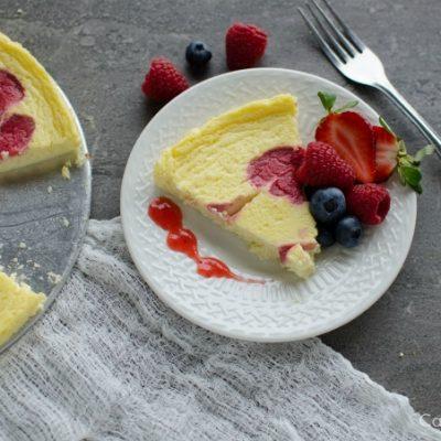 Weight Watchers Raspberry Cheesecake