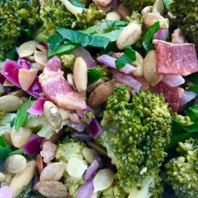 21 Day Fix Broccoli Salad