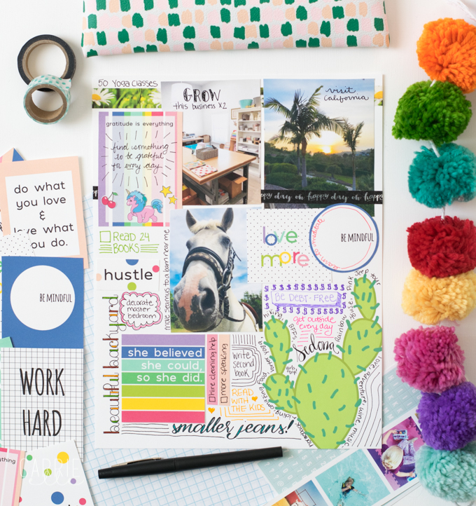 Printable Vision Board Quote Cards