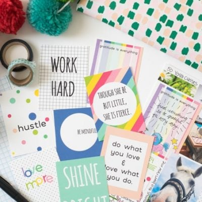 Vision Board Printable Quote Cards