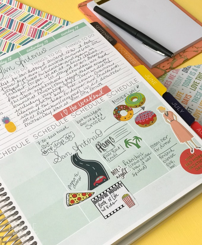 How to Make Your Own Planner Stickers - Carrie Elle