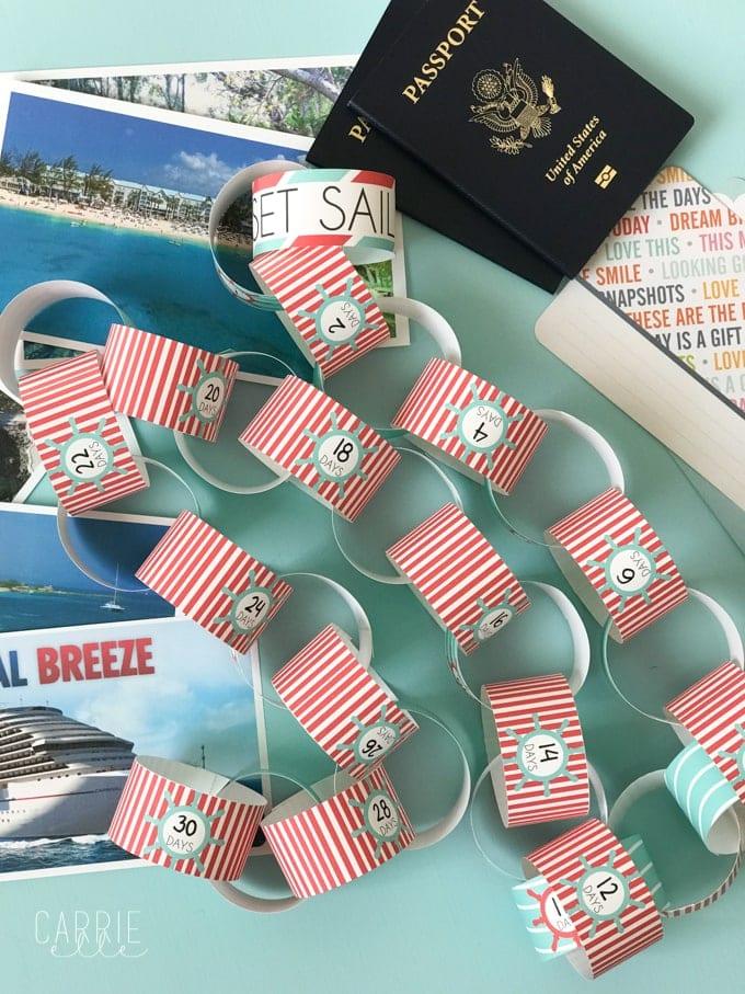 Cruise Countdown Printable
