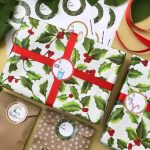 Printable Christmas Gift Tags that Work with Avery Labels