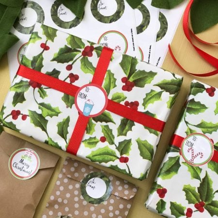 Printable Christmas Gift Tags Avery Labels