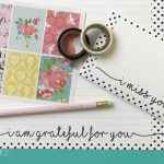 Printable Stationery with a Gratitude Theme