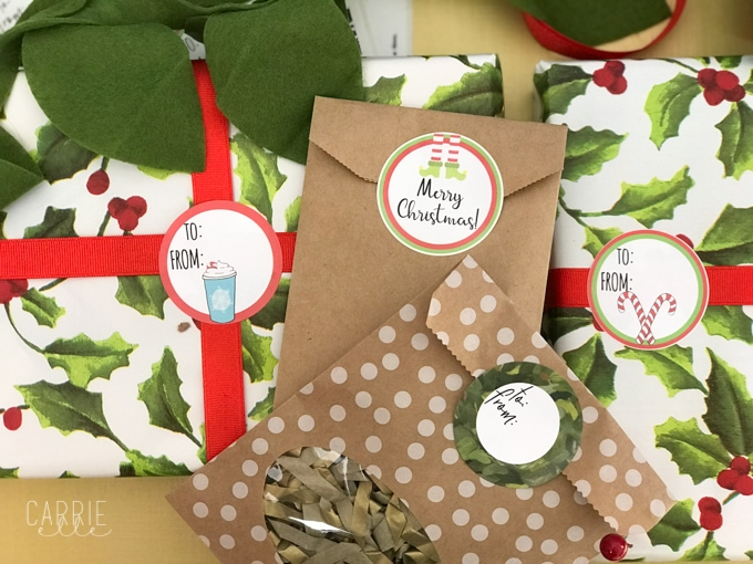 printable christmas gift tags that work with avery labels carrie elle