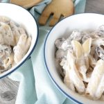 21 Day Fix Ricotta Penne with Mushrooms