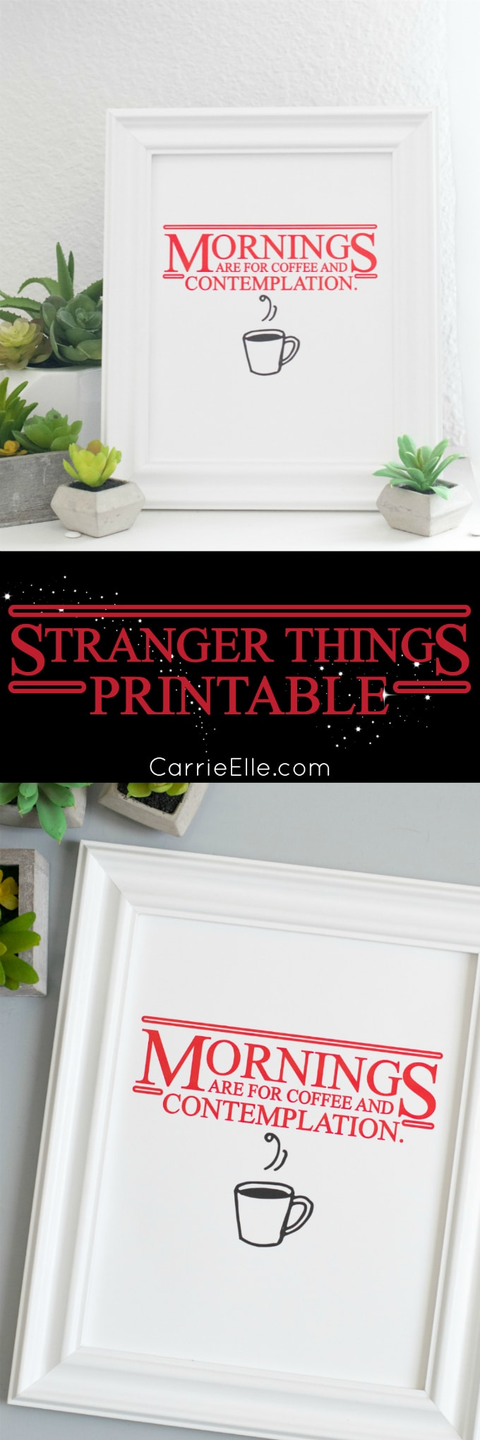 Stranger Things Printable