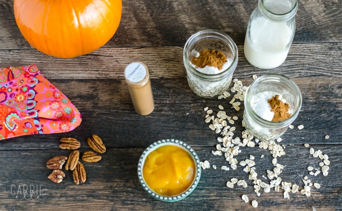 21 Day Fix Pumpkin Overnight Oats