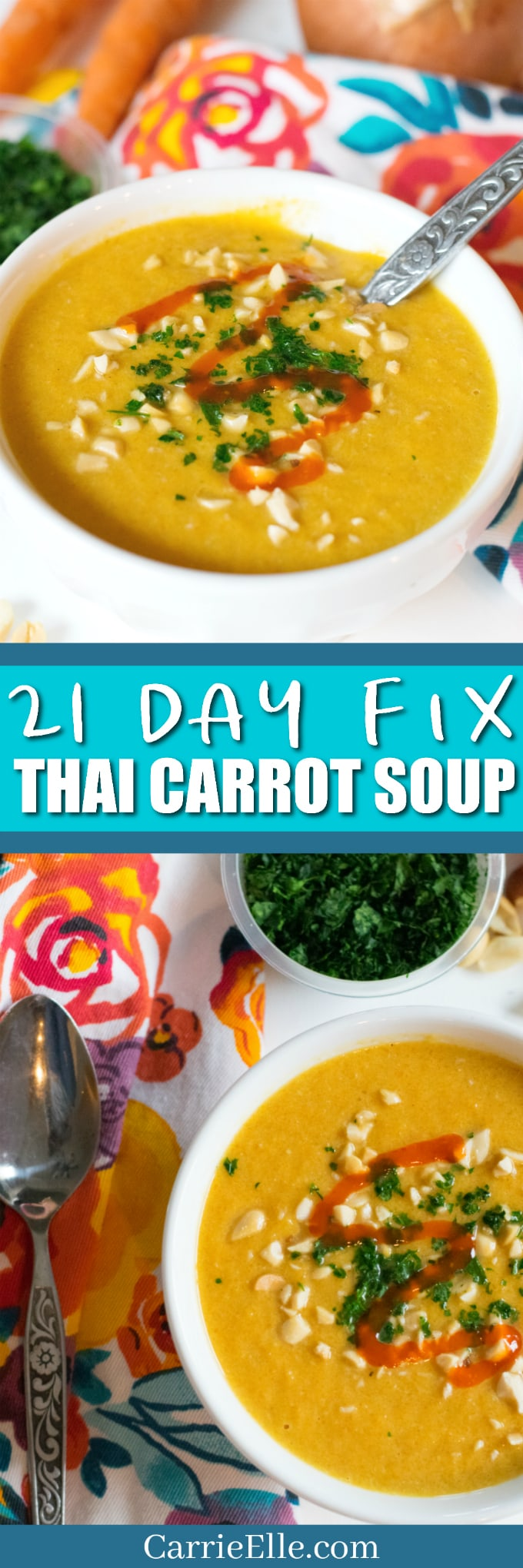 21 Day Fix Thai Carrot Soup