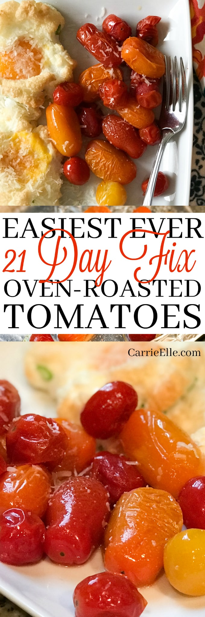 21 Day Fix Oven Roasted Tomatoes