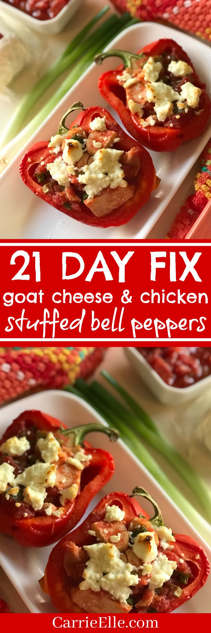 21DF Stuffed Bell Peppers