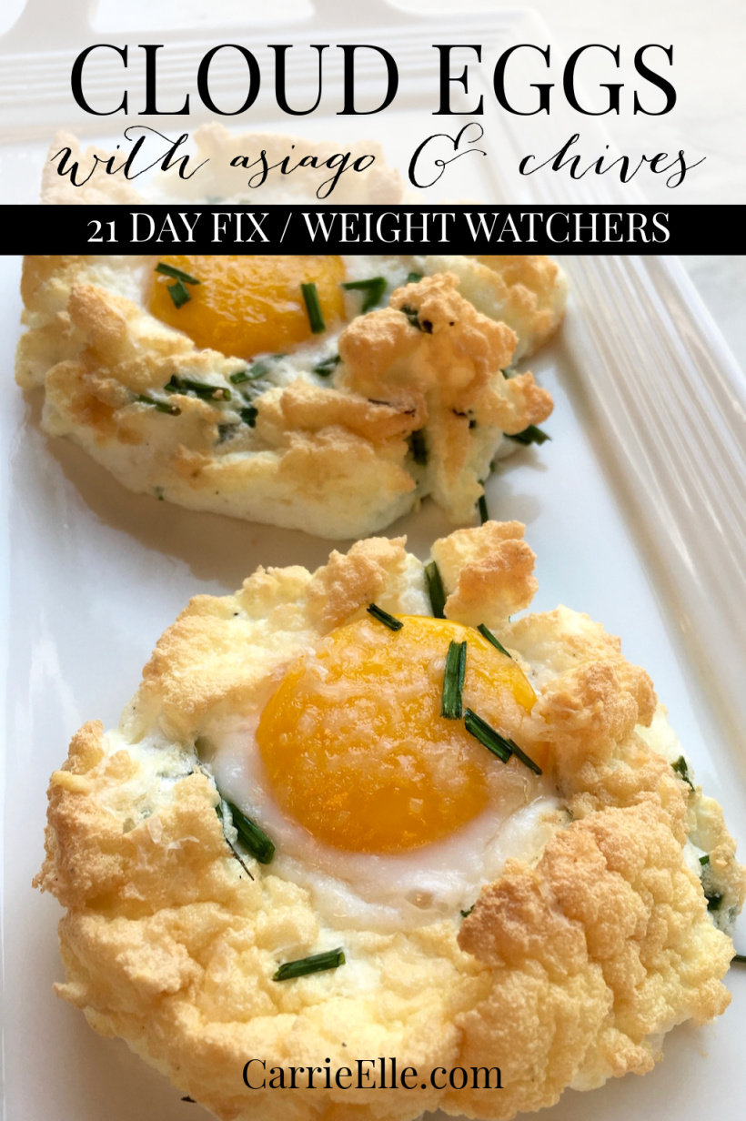 Cloud Eggs Weight Watchers 21 Day Fix