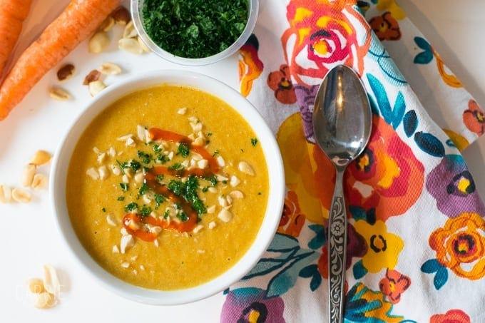 21 Day Fix Thai Carrot Soup