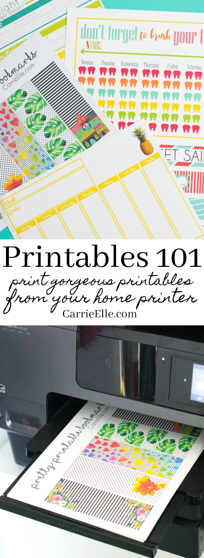 How to Print Printables