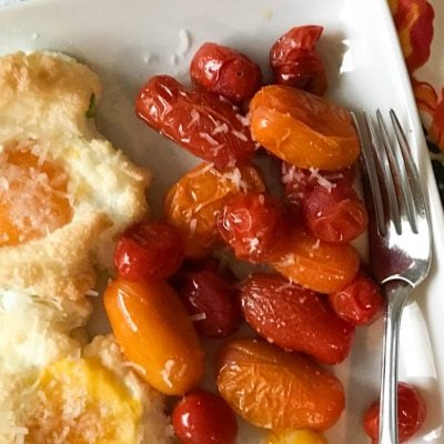 Easiest Ever 21 Day Fix Oven-Roasted Tomatoes