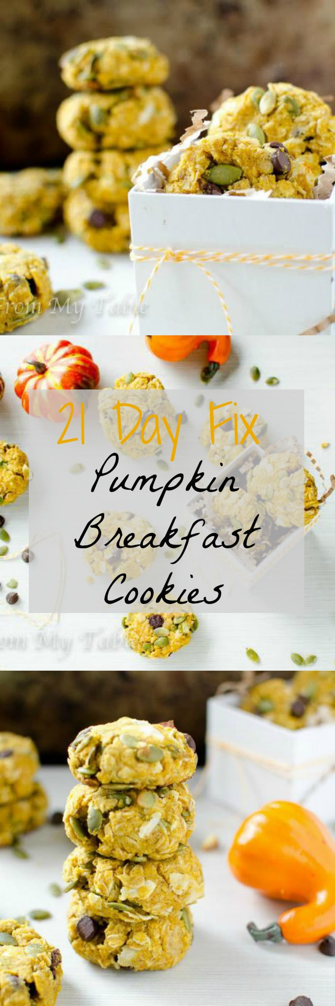 21 Day Fix Pumpkin Cookies