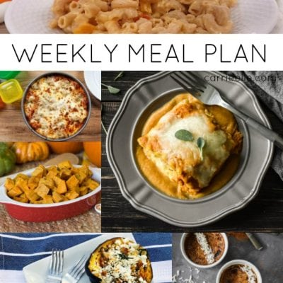 21 Day Focused Weekly Meal Plan
