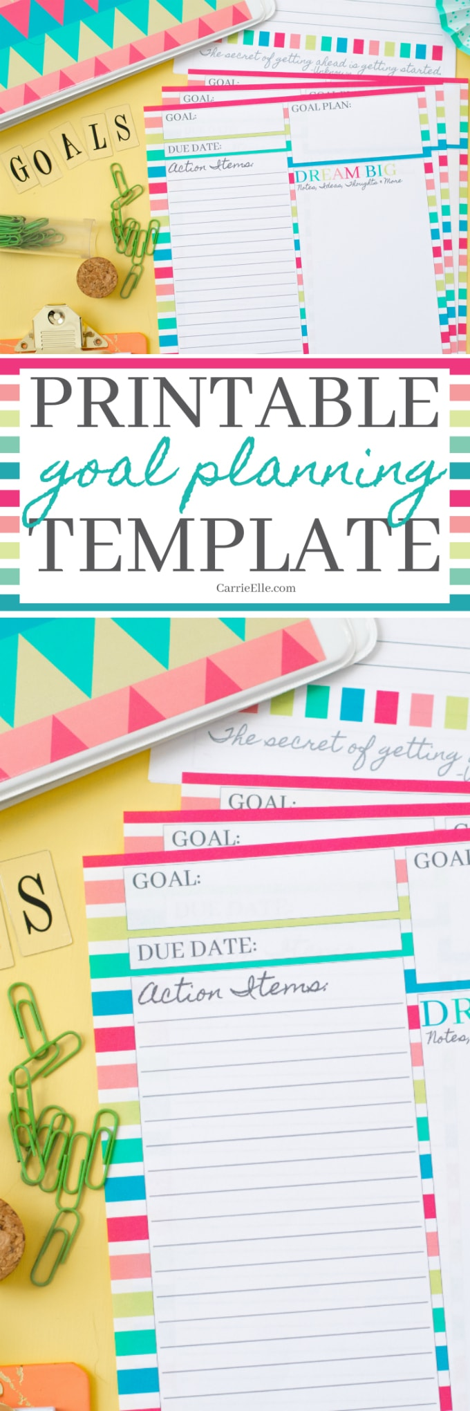Printable Goal Planning Template