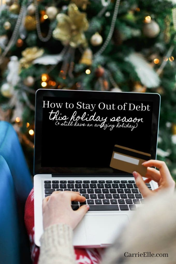 Stay Out of Debt Christmas