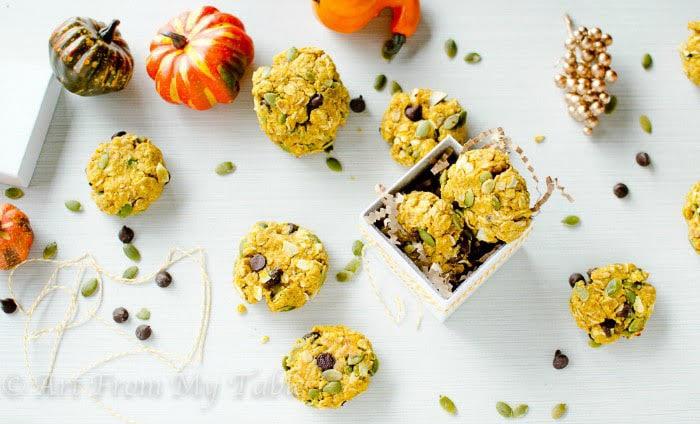21 Day Fix Pumpkin Breakfast Cookies