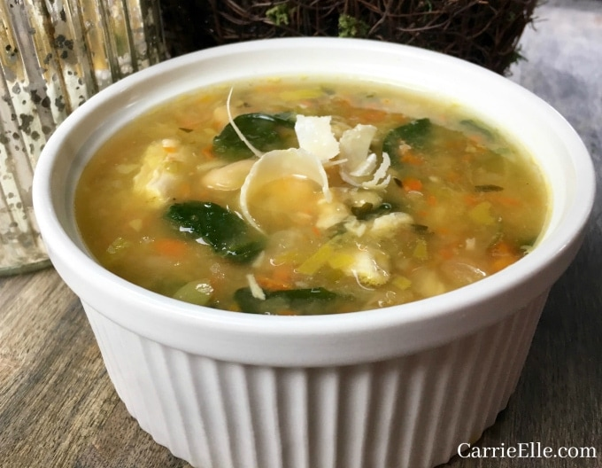21 Day Fix Spicy White Bean Soup
