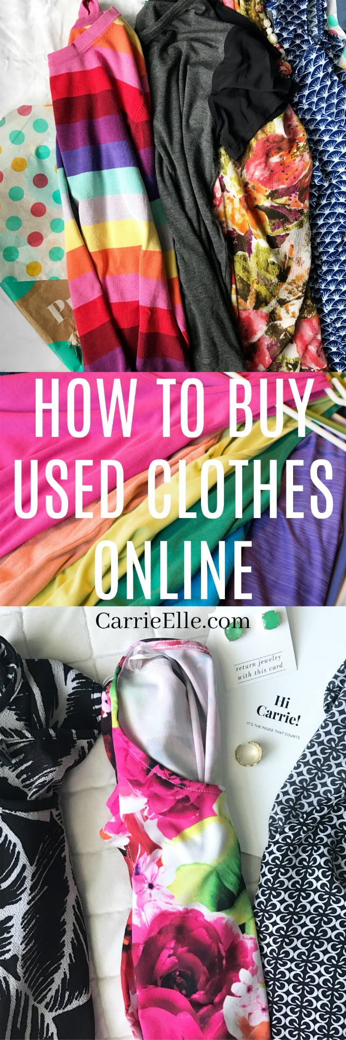 How to Buy Used Clothes Online