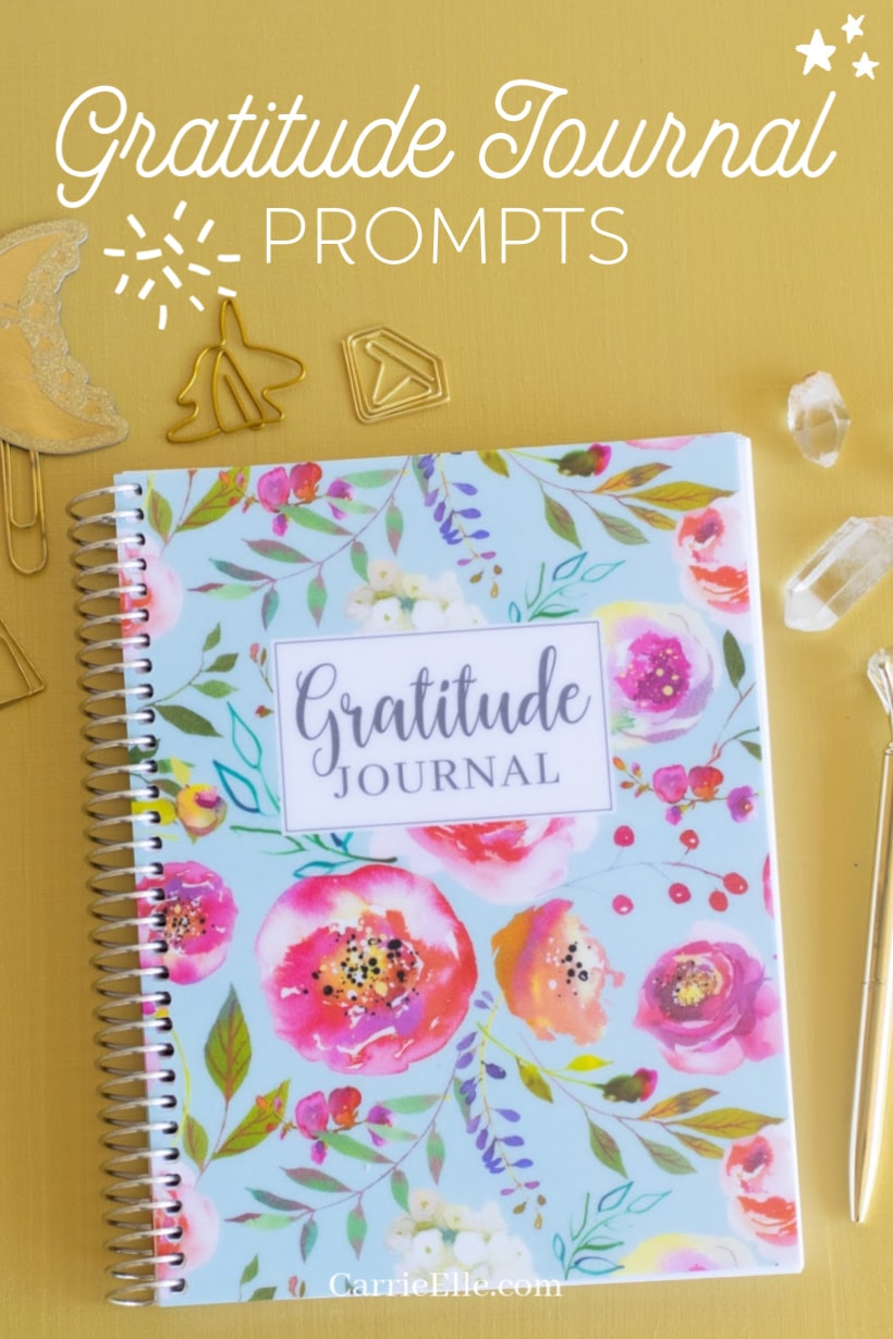 Gratitude Prompts CarrieElle.com