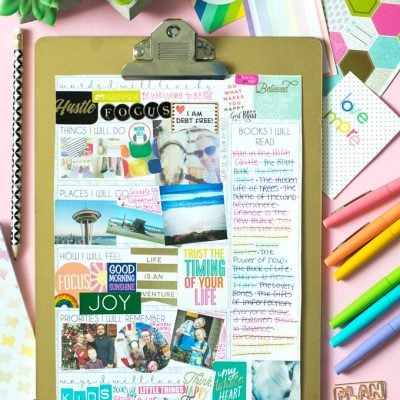 Vision Board Topics to Get You Started