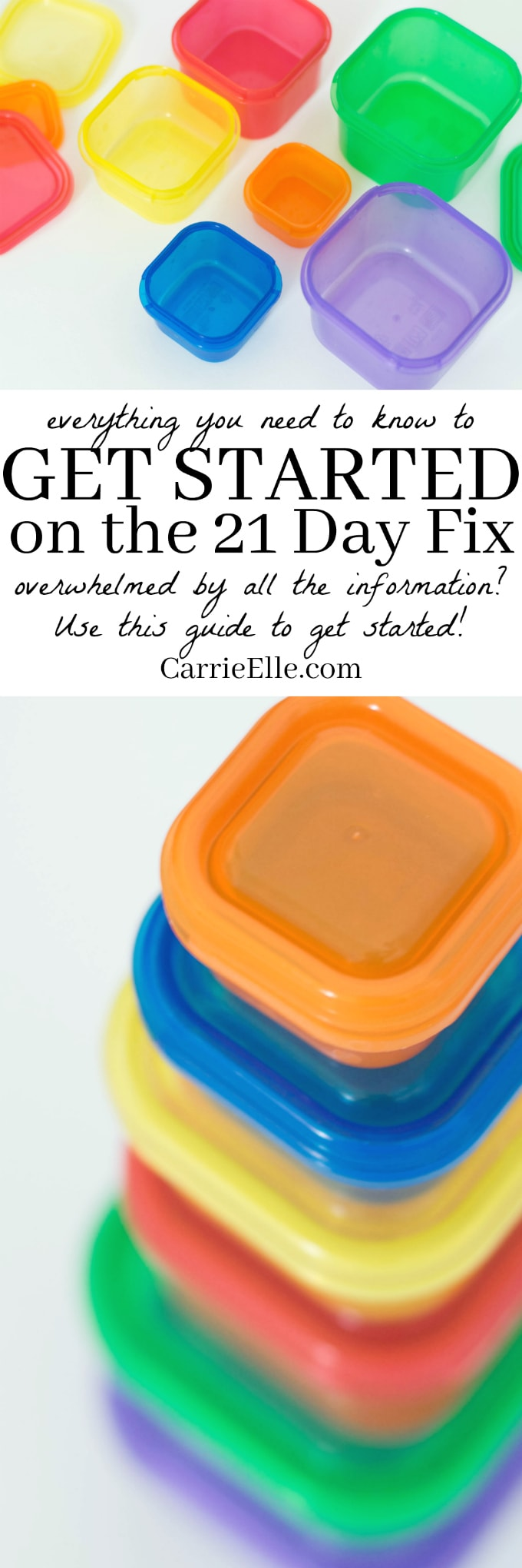 How to Get Started on the 21 Day Fix