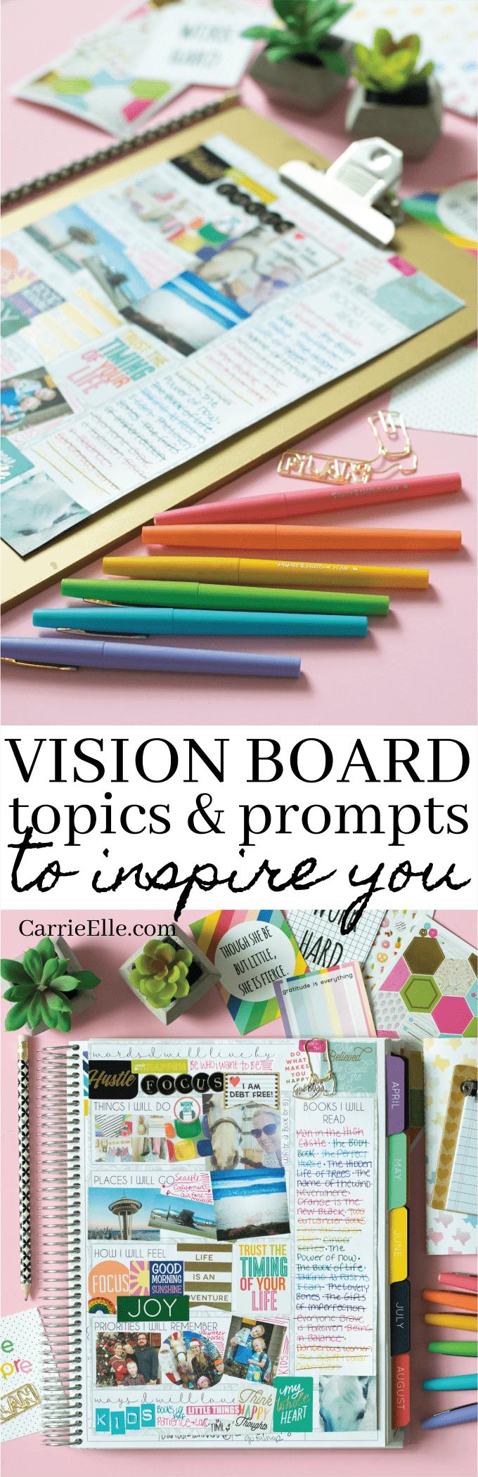 Vision Board Topics