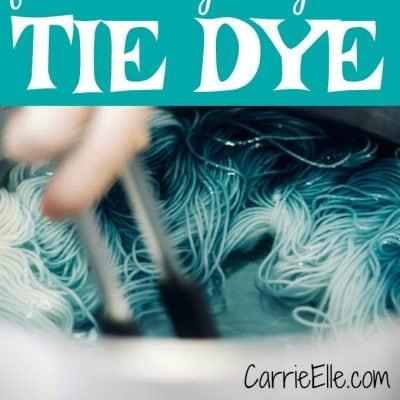 Fun & Easy Ways to Tie Dye
