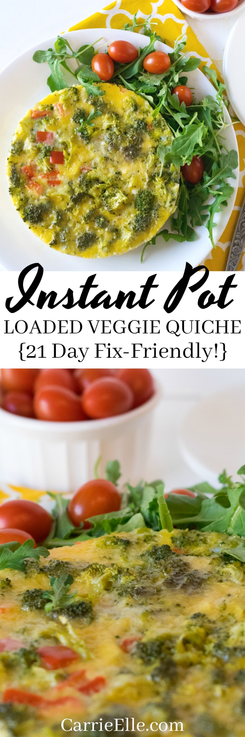 21 Day Fix Instant Pot Quiche