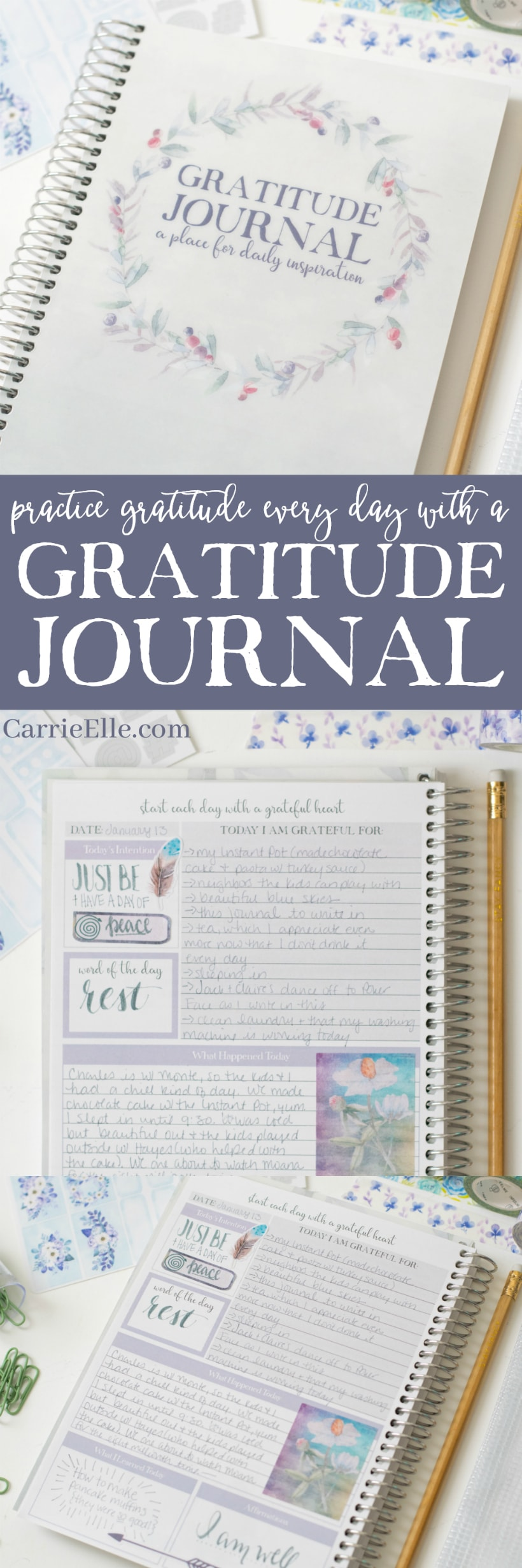 Beautiful Gratitude Journal