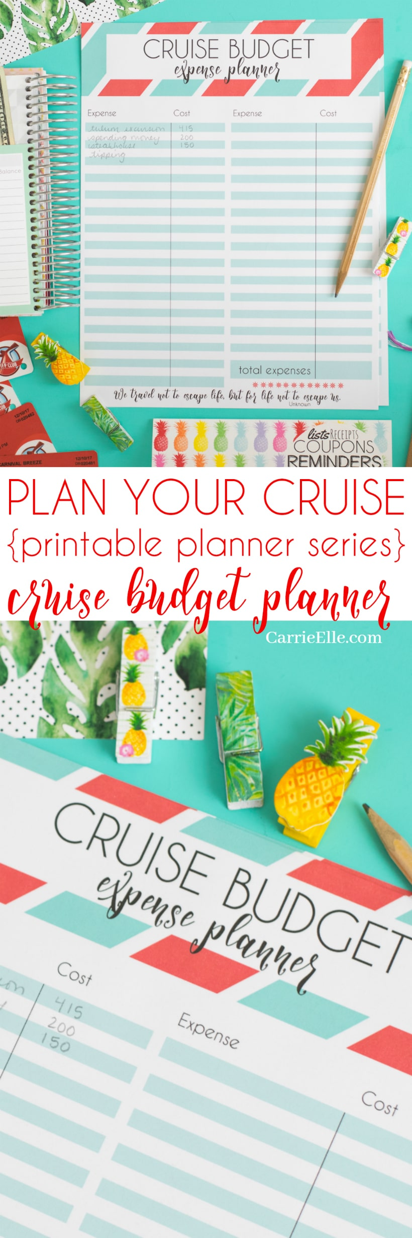 Cruise Budget Planner